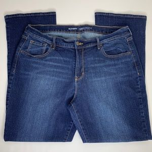 Old Navy Curvy Mid Rise Bootcut Jeans Size: 16 P